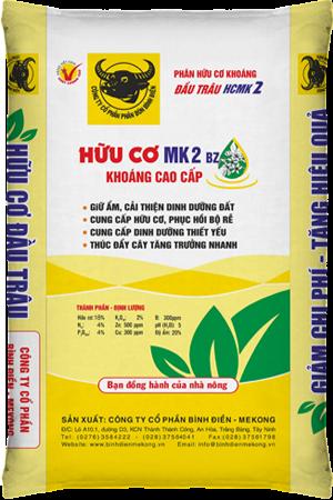 Phân bón hữu cơ khoáng MK2 BZ