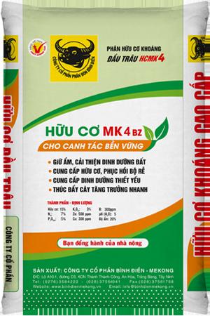 Phân bón hữu cơ khoáng MK4 BZ