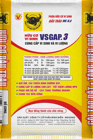 Hữu cơ Vi sinh VSGAP.3