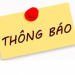 Thông báo nghĩ Tết Dương Lịch 01/01/2020